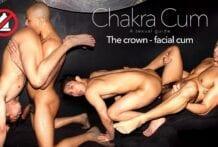 Chakra Cum 2: The Crown Facial Cum, Levy & Zario (Bareback)