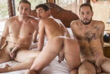 Fair Game: Atticus Fox, Lukas Valentine & Jeff Powers (Bareback)
