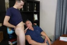 The Principal's Office, Part 1: My Stepdad Is Gay! Alex Meyer & Dallas Steele (Bareback)
