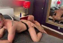 Adam Russo Fucks Cody Moore, Part 1 (Bareback)