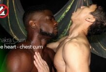 Chakra Cum 5, The Heart (Chest Cum): Devin Trez & Levy Foxx (Bareback)