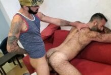 Hairy Encounter with sexy Rob Hairy (Bareback)