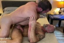 Lance & Mike's Marathon Fuck: The Cum Shot, Part 3 (Bareback)