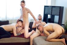 Wank Party #132, Part 1 RAW