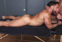 bigdickfig, massage time with Brock Banks, Part 1