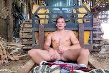 Connor Woods Tractor Jerk-Off Peep