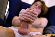 Zachari Spurts His Twink Cum, Zachari Wilks
