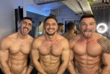 Dato Foland and Lucas y Luis_XL (fit_muscle) (Bareback)