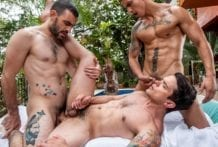Destroyed In The Butt: Dakota Payne, Max Arion & Max Avila (Bareback)