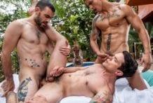 Destroyed In The Butt: Dakota Payne, Max Arion & Max Avila (Bareback)