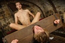 Dungeon Slave Craves Cum: Alan Davis & Rick Palmer (Bareback)