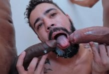 Desafio Hot Big Dick com Nerd Carioca (Bareback)
