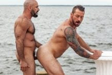 Hugh Hunter And Gio Forte Fuck On Fire Island (Bareback)