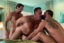 Jake Nicola, Vince Parker & David Krave (Bareback)