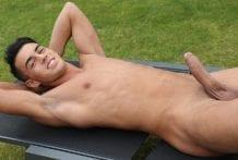 Jason Moore shows his BIG uncut Dick