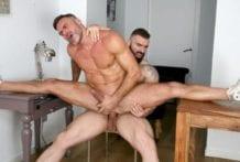 Behind The Scenes: Banana Split, Max Hilton & Manuel Skye (Bareback)