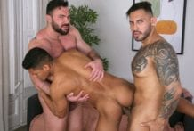 Behind The Scenes, COCKED & LOADED (Bareback)