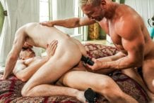 Daddys In Charge: Andrey Vic, Robert Law & Tomas Brand (Bareback)