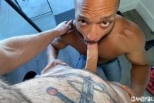 Johnny Mind Fucks the Cable Guy: Dillon Diaz & Johnny Hill (Bareback)