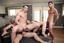 Ballin Bros: Ryan Jordan, Johnny B II, Alex James & Carter Woods (Bareback)