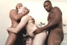 Political Party Bottom: Andre Donovan, Dillon Diaz, Jack Bailey & Peyton Key (Bareback)