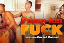 Pump-kin Fuck: Justin Matthews & Trevor Ridge (Bareback)