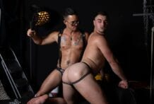 Raunchy Fuckers! Michael Boston & Nic Sahara (Bareback)