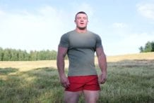 Naked Russian Stud: Daddy Bull