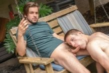 Too Busy to Get Busy: Johnny Rapid & Aiden Asher (Bareback)