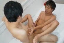 Work Those Erotic Muscles!: Akira & Tomoki