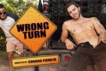 Wrong Turn! Carter Woods & Isaac Parker (Bareback)
